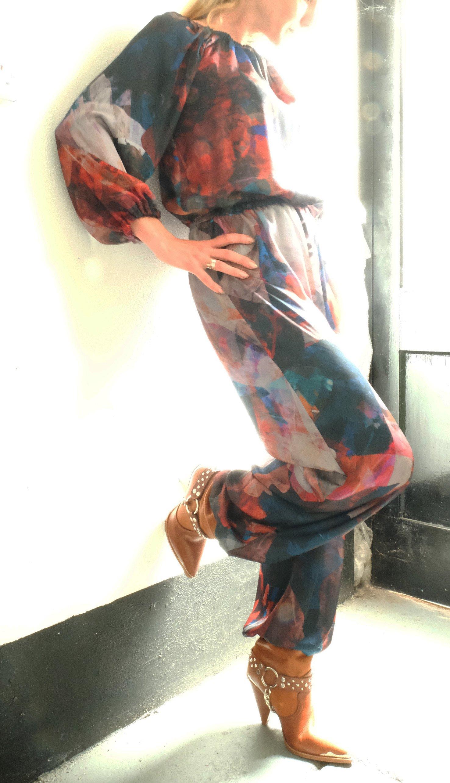 Image of Equinox Day Suit in Sheer Silk-Satin