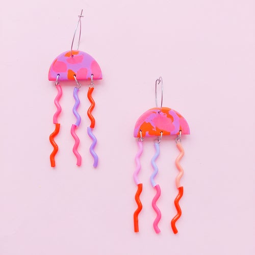 Image of Jellyfish - brights and neons -multi designs