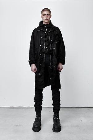 Image of WAXED TRENCH COAT