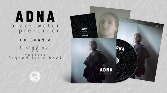 Image of Pre-order: Adna - Black Water - CD Bundle