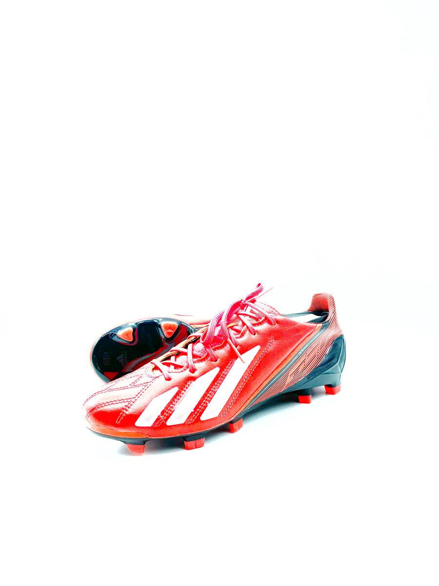Image of Adidas F50 adizero Leather orange FG OR SG