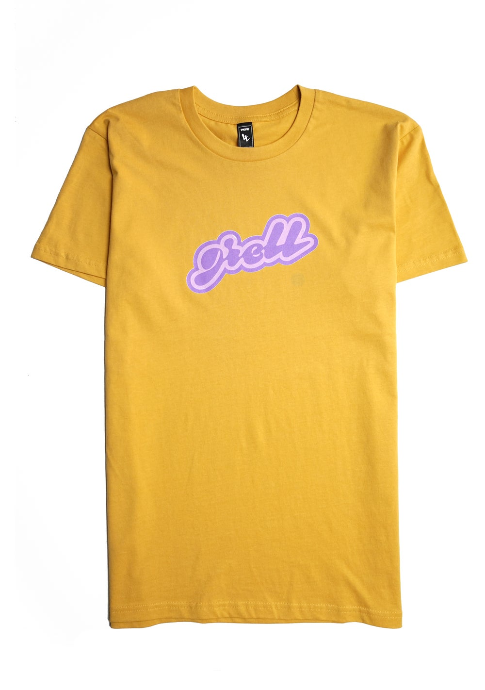 Image of greLL Unisex  Tee -  Mustard  & Royal
