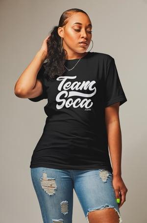 Image of Team Soca Varsity Logo T-Shirt - Unisex (Various Colors)