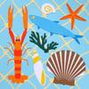 """Collage """"Trésor de Méditerranée"""""""