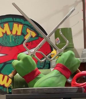 Image of Raphael Prop Hand Sai Set