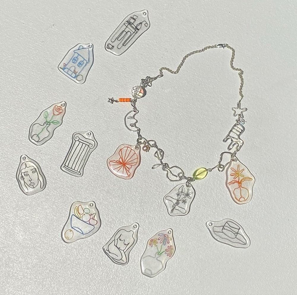 Image of Shulian x Lane Charm Necklace