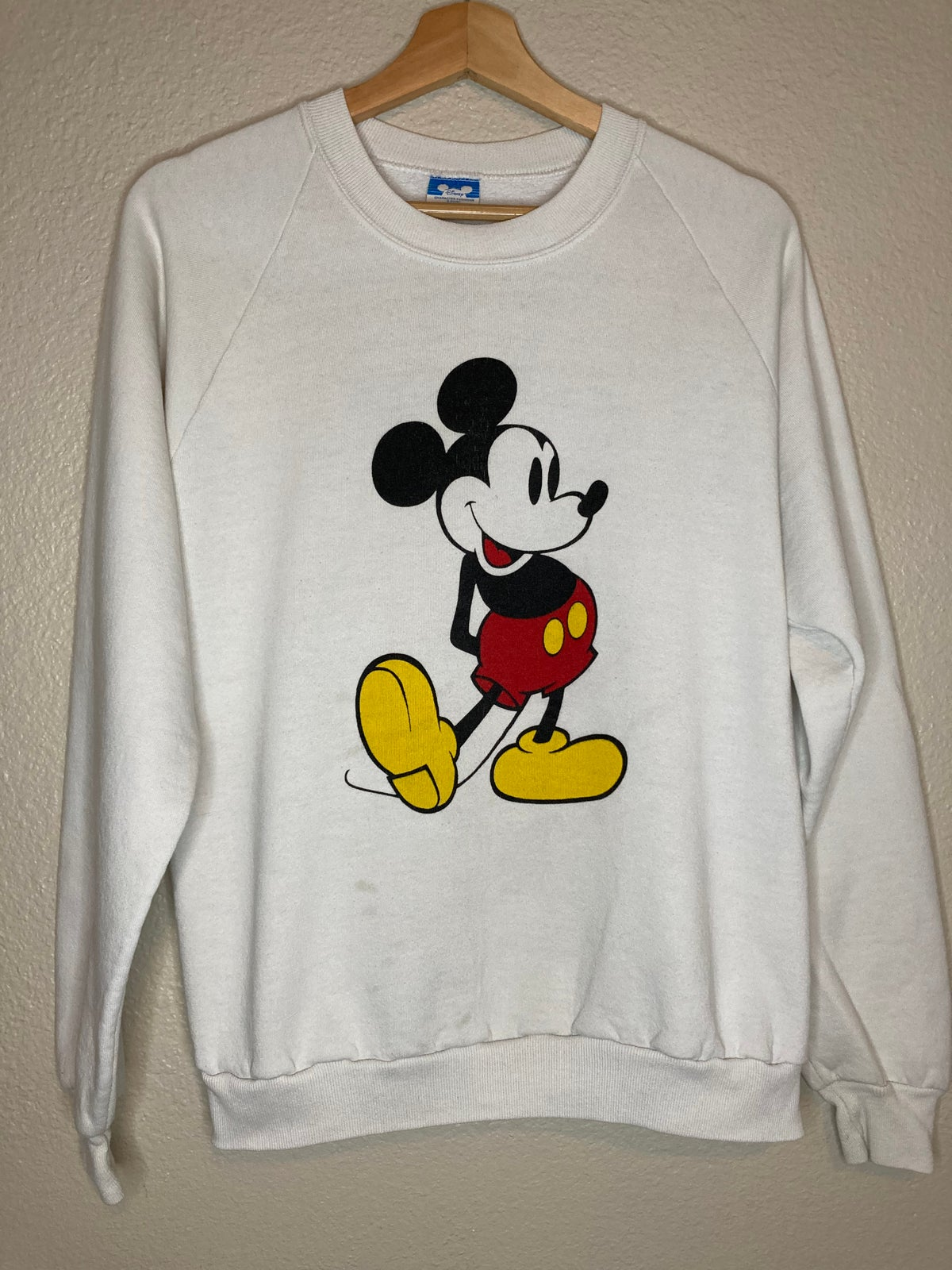 Late 80's Mickey Mouse Crewneck Sweater