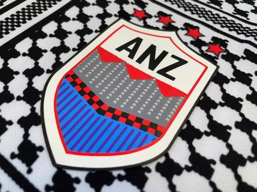 Image of FC Palestina x AnZ Collab football shirt