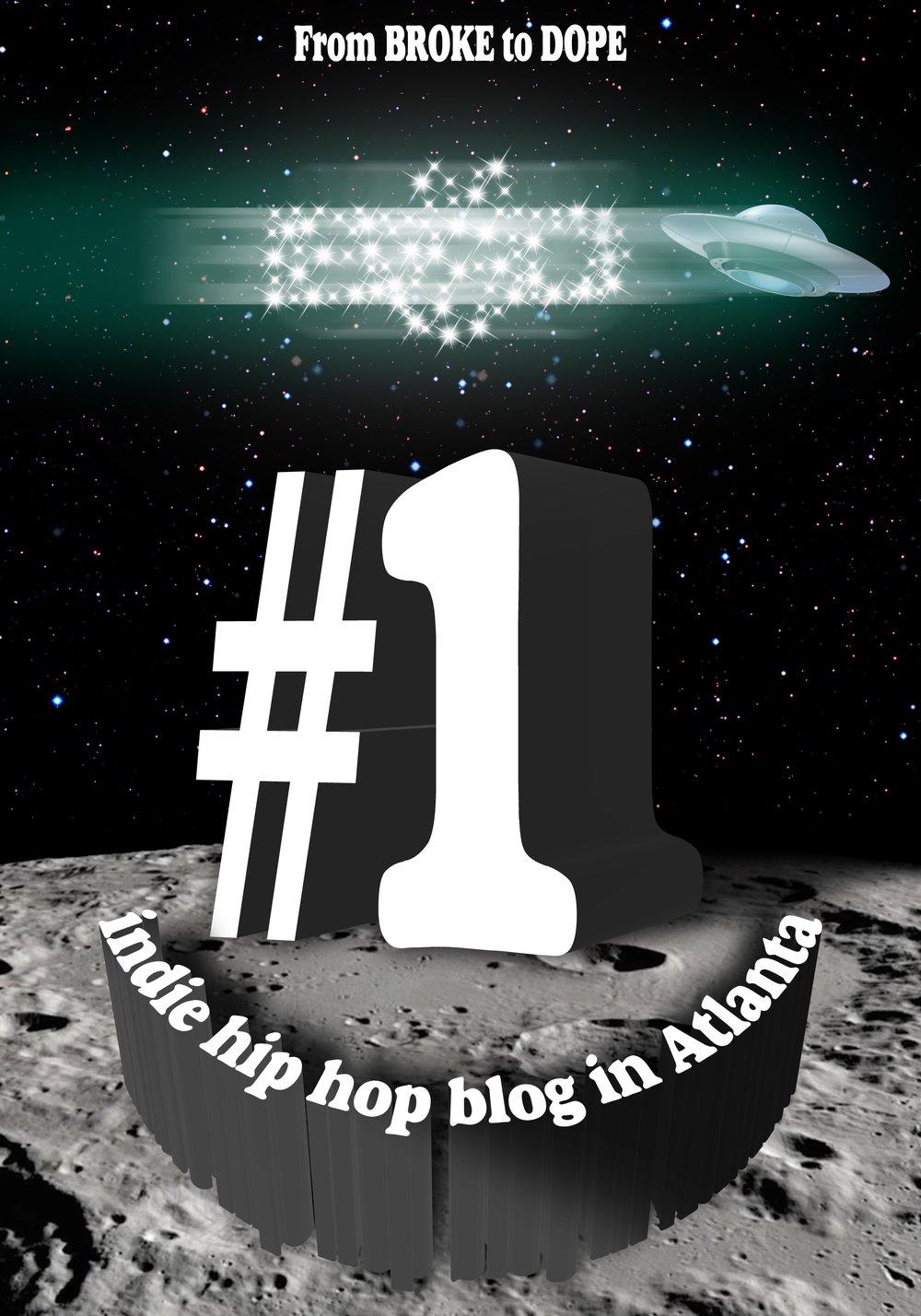 """""""1 Indie Hip Hop Blog in Atlanta"""" Poster"""