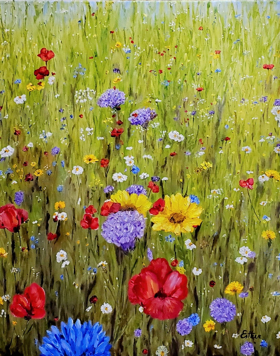 Image of Enchanted Meadow 1 by Esther Scott