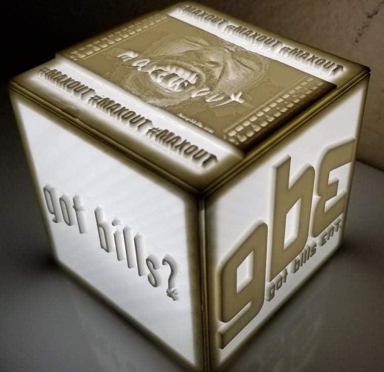 Image of Light Up Bills Box
