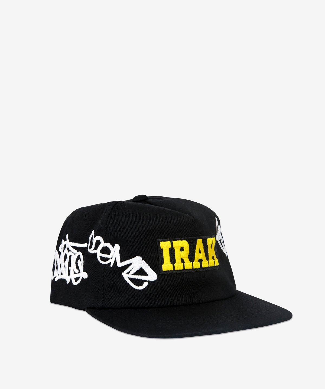 Image of IRAK_TAG BOX LOGO HAT :::BLACK:::