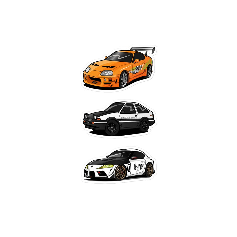 Image of Motorsports Series: Stickers