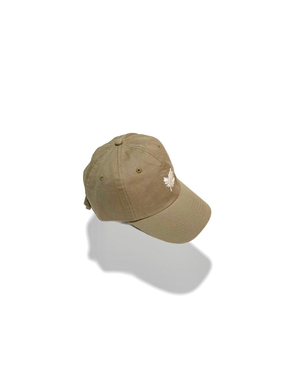 Image of Khaki Golf Cap