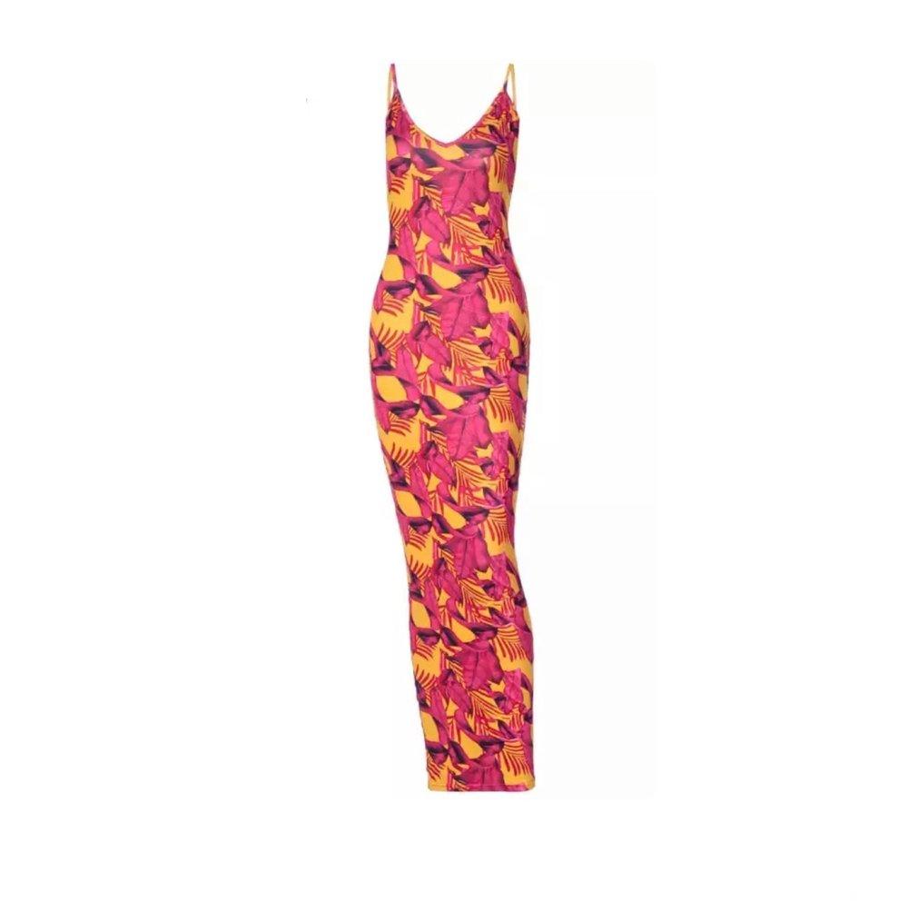 Image of Pink Leaf | Dress