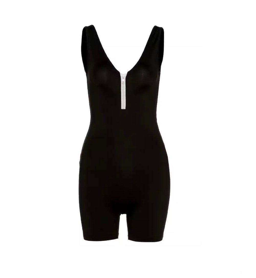Image of Black Zipper | Jumpsuit