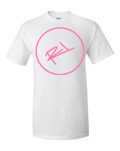 Image of THE ReL BRAND LOGO IN WHITE & PINK