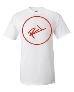 Image of THE ReL BRAND LOGO T-SHIRT WHITE & RED