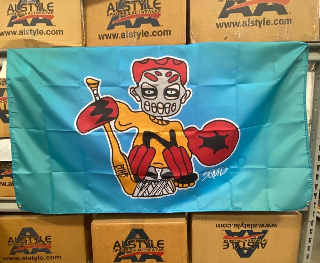 SQUID 3x5 flag