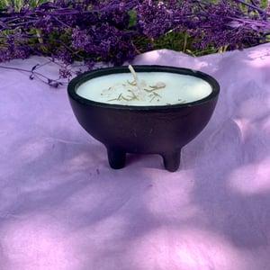 Coconut Cleansing 6 oz Open Cauldron Candle