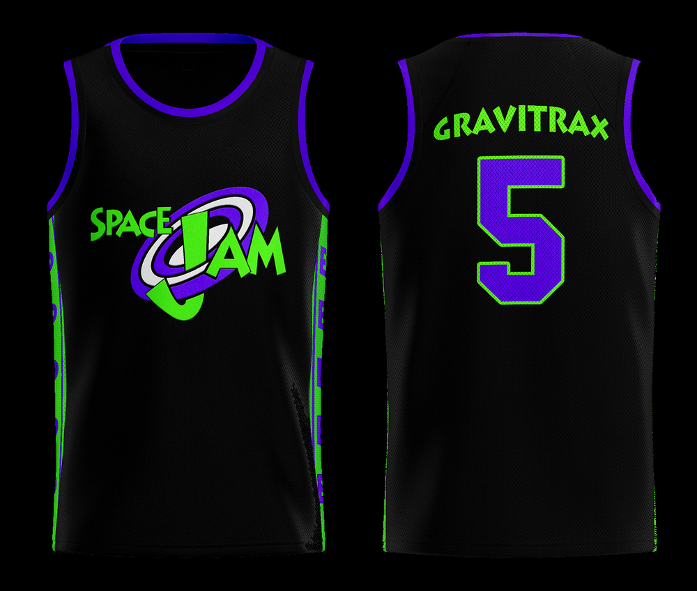 Image of SPACE JAM EP - BASKETBALL JERSEY