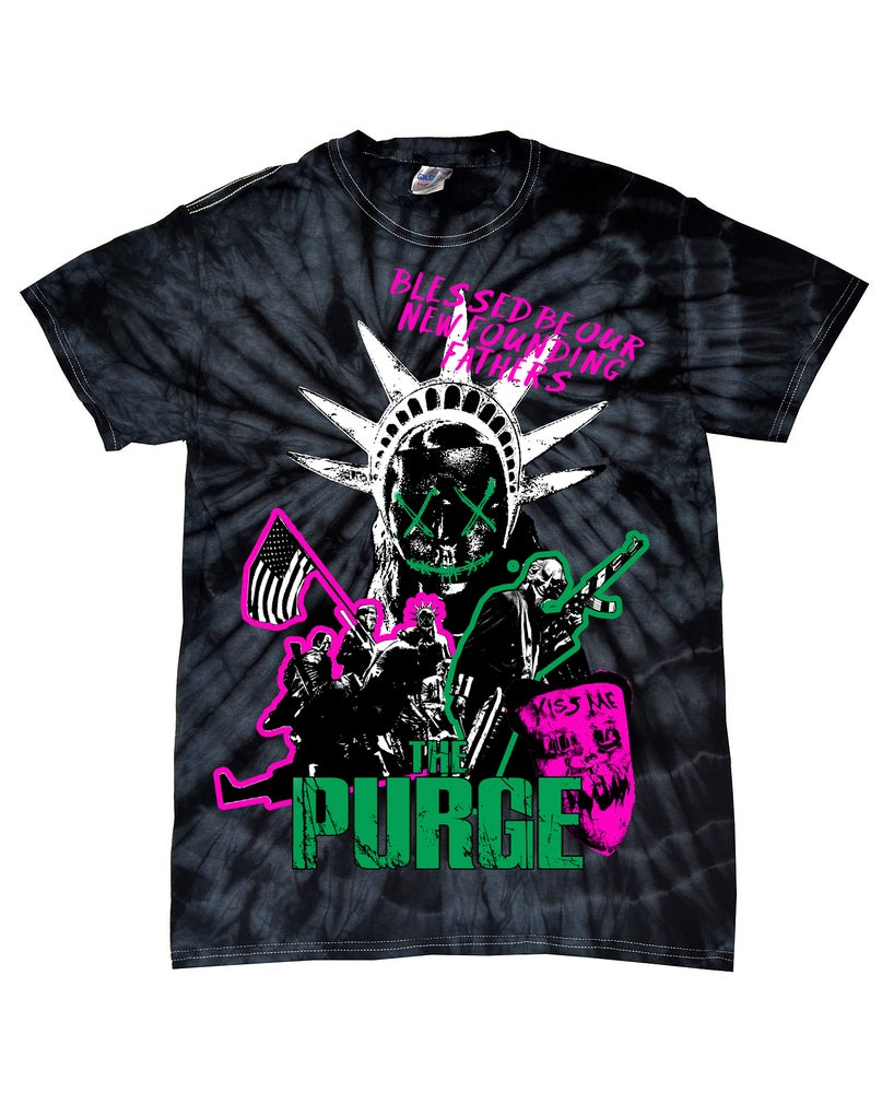 Image of Purge Night Tie Dye Variant LIMITED EDITION Pre Order