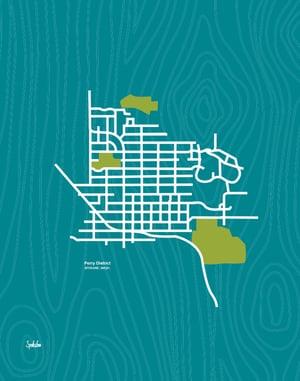 Perry District Neighborhood Map