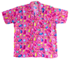 Space Candy button-up shirt