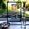 Wave Project Pause - framed, one of a kind, acrylic glass screen print
