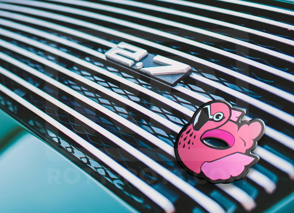 Flamingo Grille Badge Exclusive