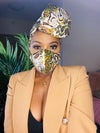 Camou Headwrap and Mask Set