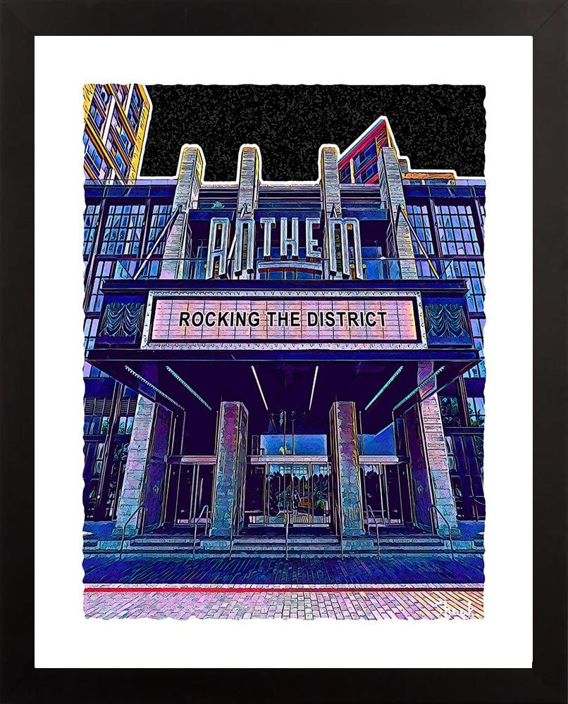 The Anthem, Washington DC Giclée Art Print (Multi-size options)