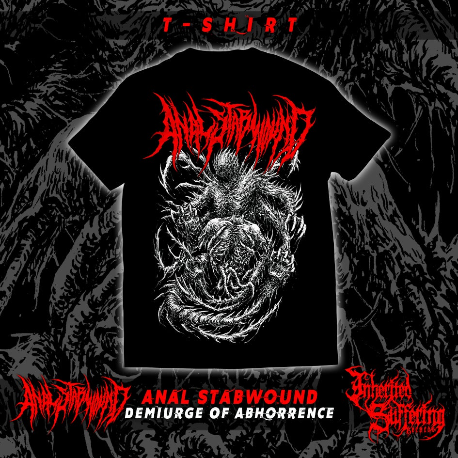 Image of Anal Stabwound - Demiurge Of Abhorrence - T-Shirt