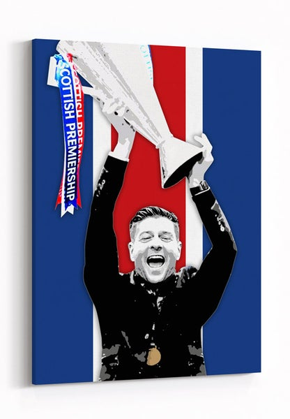 Image of Gerrard - 55 Titles - Red, White and Blue