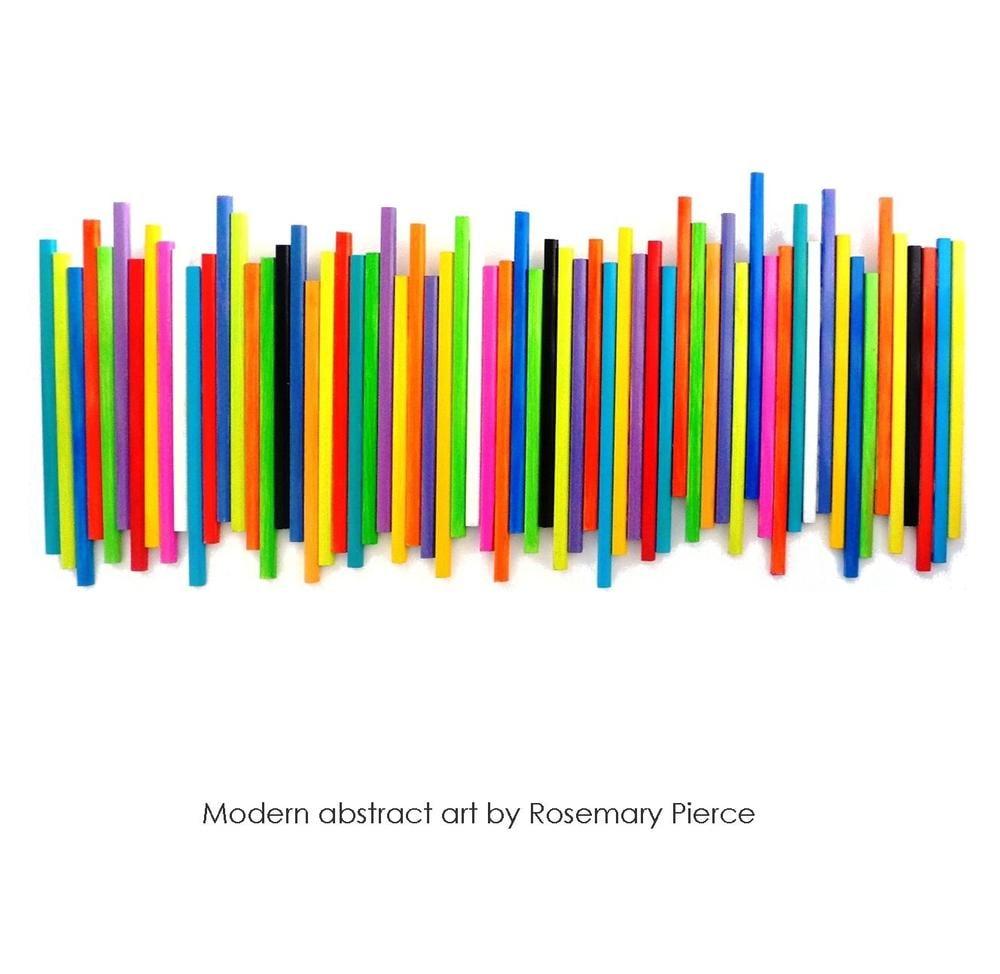 Image of Large Modern Wall Sculpture | Original Art | Wood Wall Art | Modern Wall Decor