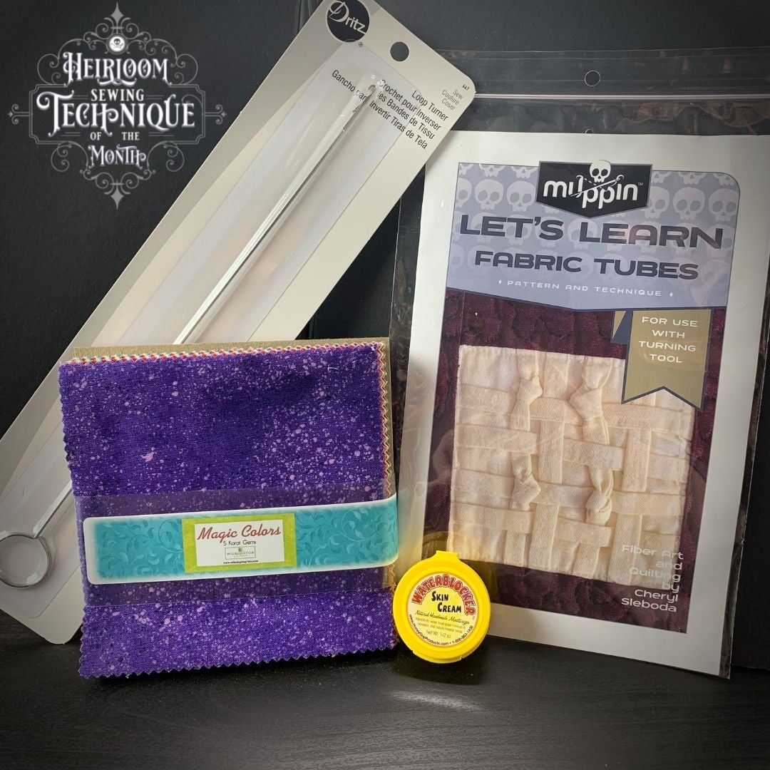 Heirloom Sewing Technique of the Month Box - August 2021 - Ships Aug 15th