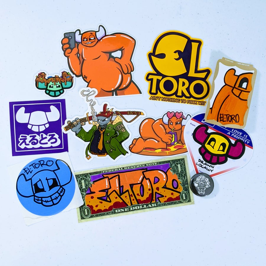 Image of Sticker Pack E