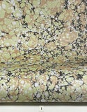 Marbled Paper Gouache Neutral & Color Stone Patterns - 1/2 sheets