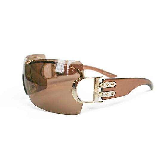 Image of Christian Dior Airspeed Sunglasses Dark Brown
