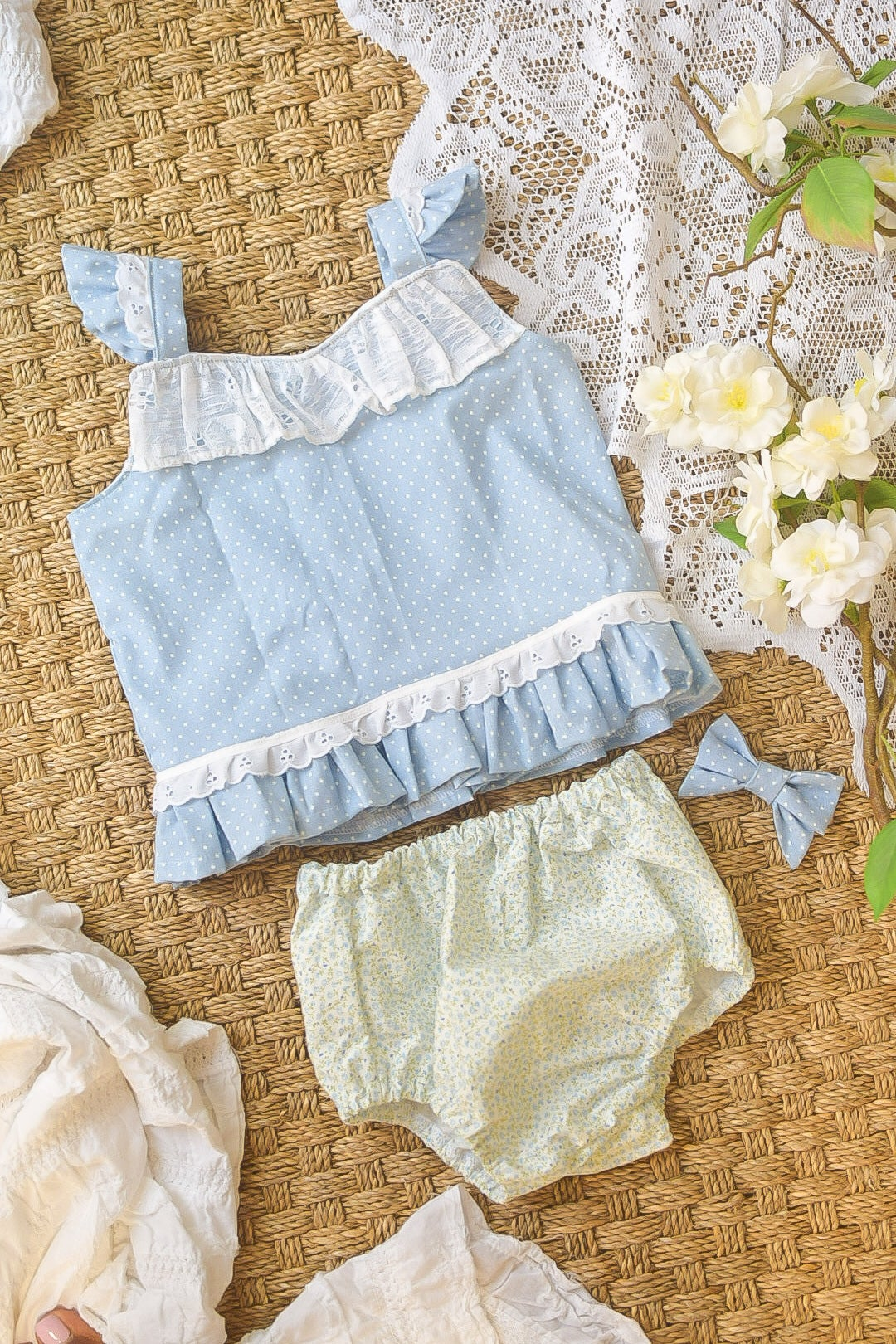 Image of Calico Two piece 2T