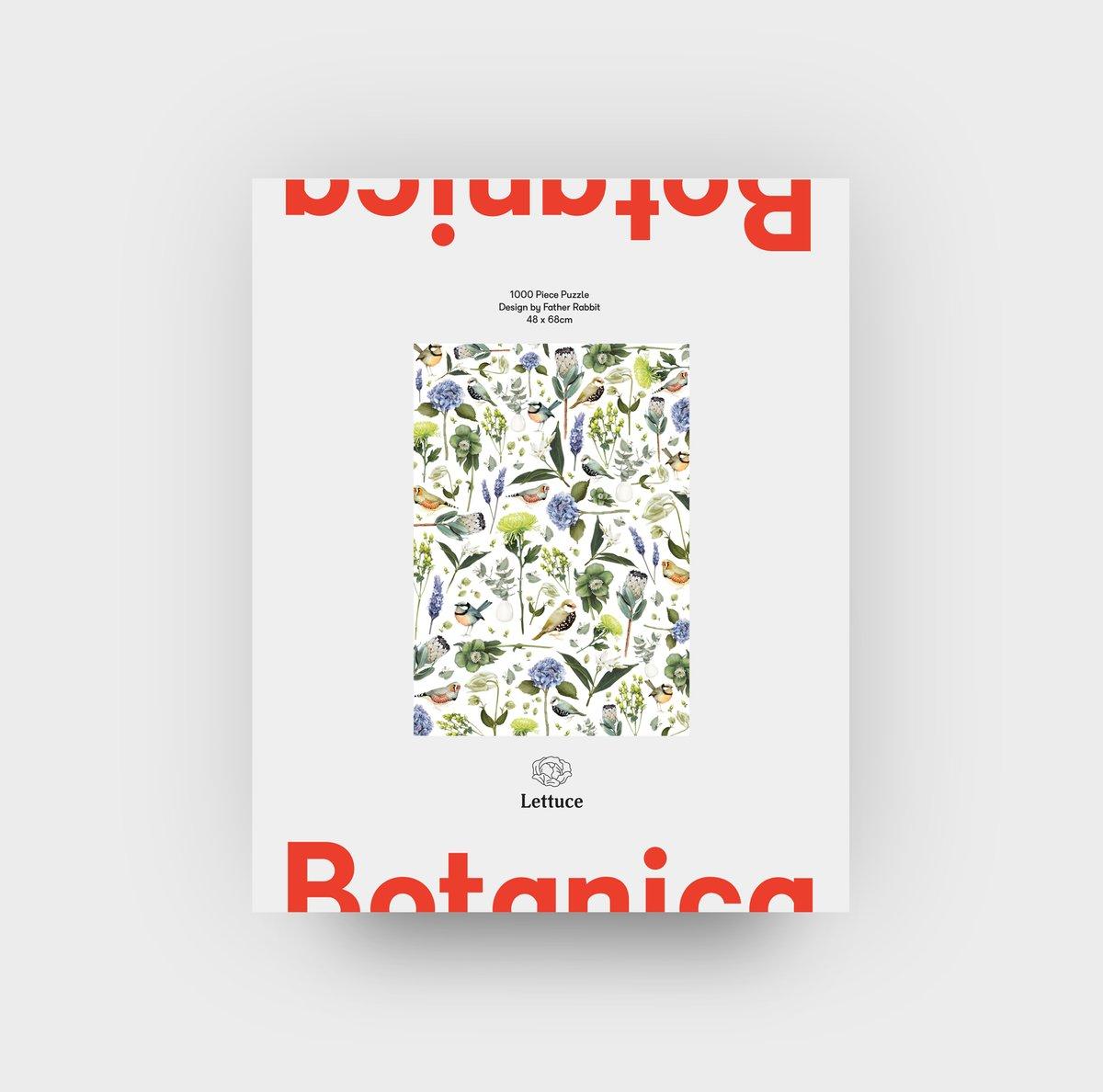 Lettuce Puzzle -Botanica