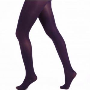 Purple Opaque Tights with Free Postage