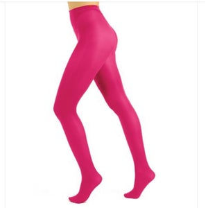 Pink Opaque Tights with Free Postage