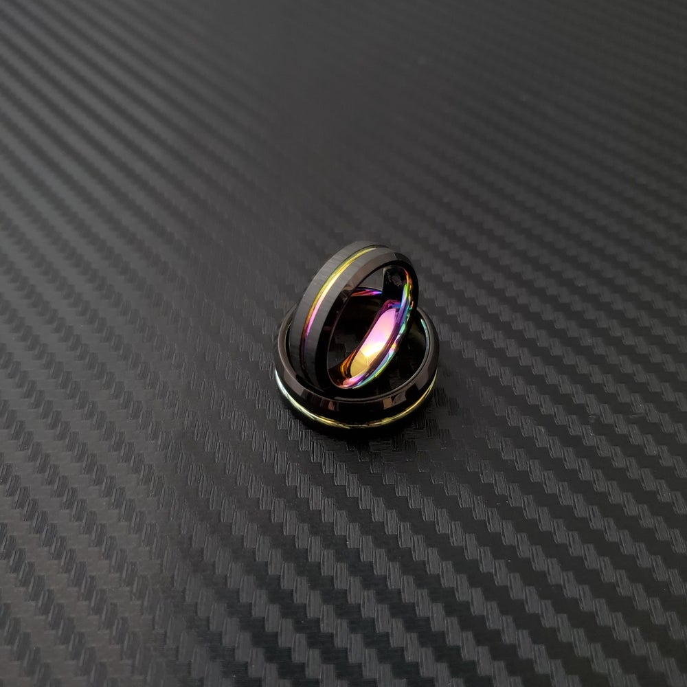 Image of Neo Chrome Tungsten Carbide Rings