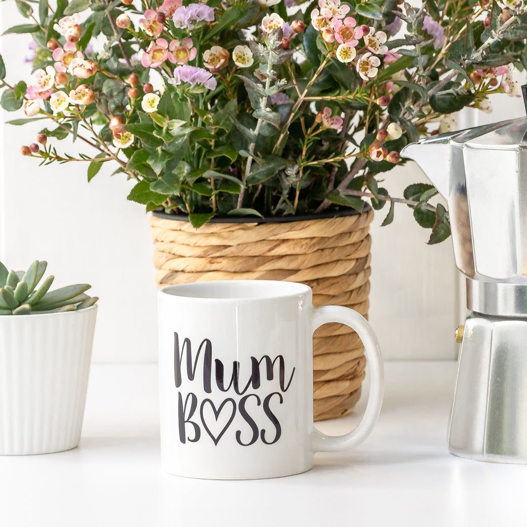 Image of Mum Boss coffee mug