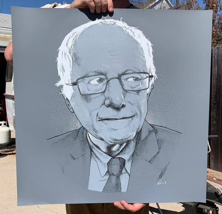 """Image of Bernie Sanders - 24""""x24"""""""