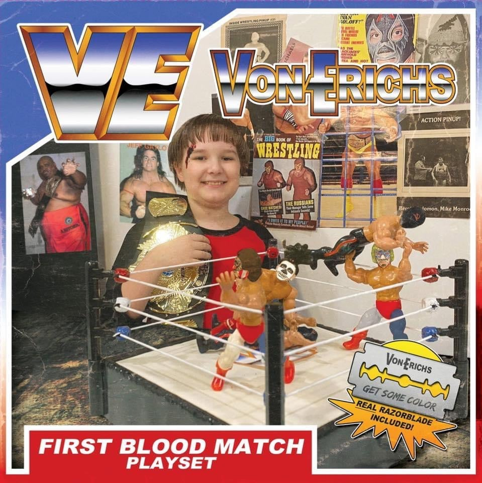 Image of VonErichs - First Blood Match Lp/Cd/Cassette