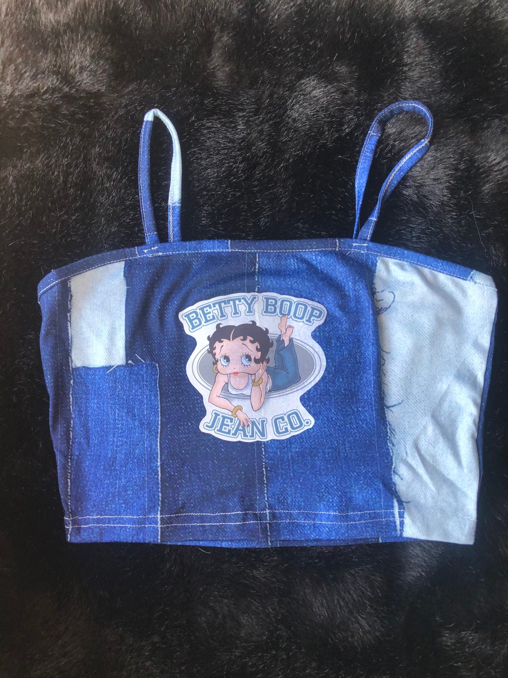 Image of Betty Boop Jean Co. Top