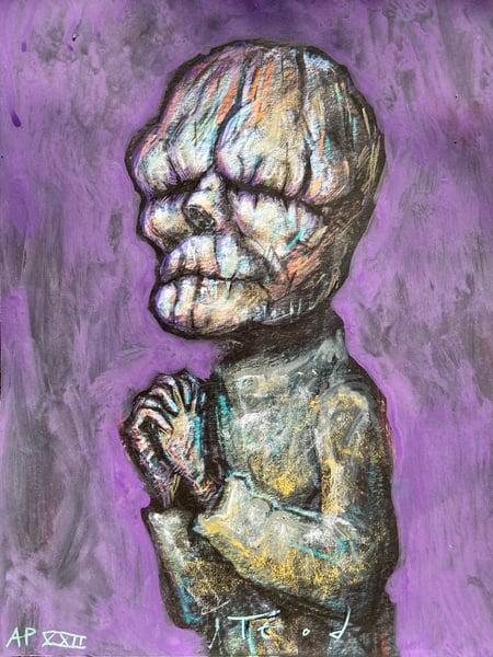 "Image of Teod ""The Butler"" Art Embellishment AP 22"
