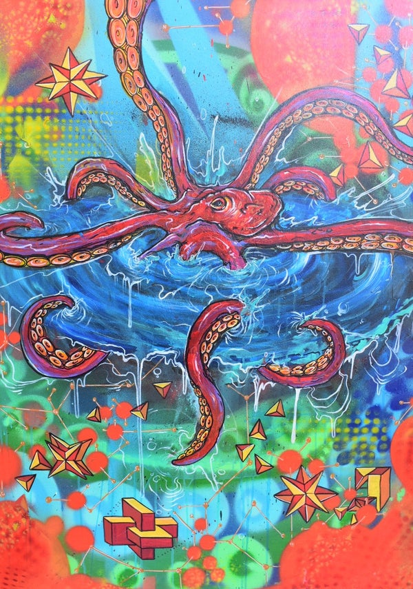 """Image of Octo Ka BOOM 30""""in x 40""""in 1.25W Cotton Wrap"""